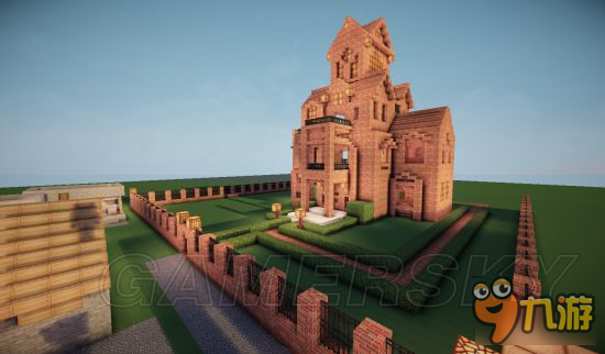 《我的高层》图文豪华别墅建造别墅v高层漂亮世界建造附近紫蓬山别墅图片