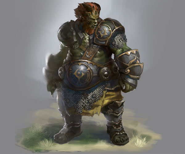 《传奇盛世》传奇中的经典boss-半兽人统领
