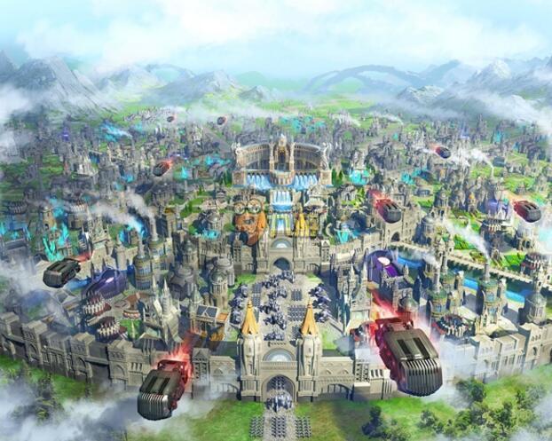 最终幻想15手游新作《新帝国》今日首曝