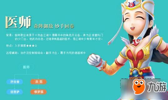 热血江湖手游医生转职怎么选 医生转职职业推荐
