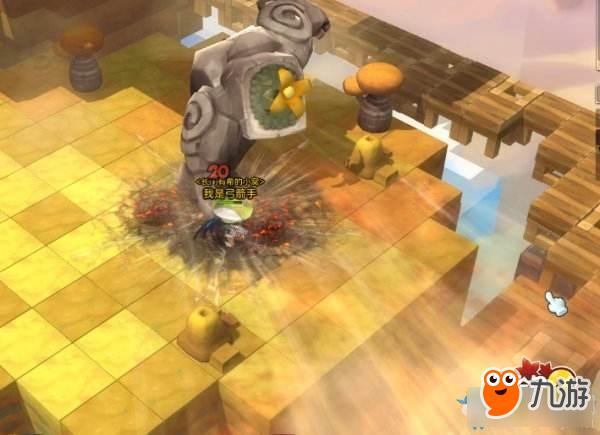 《冒险岛2》末日石巨人副本攻略