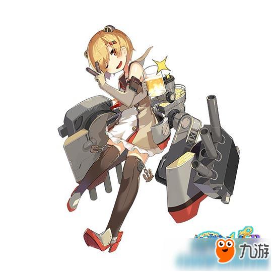 《战舰少女r》3.0版本瑞鹤兔子斯佩改立绘