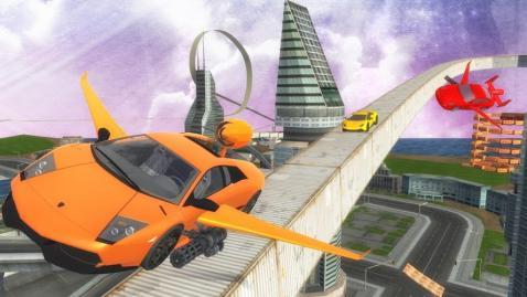 未来的飞行汽车