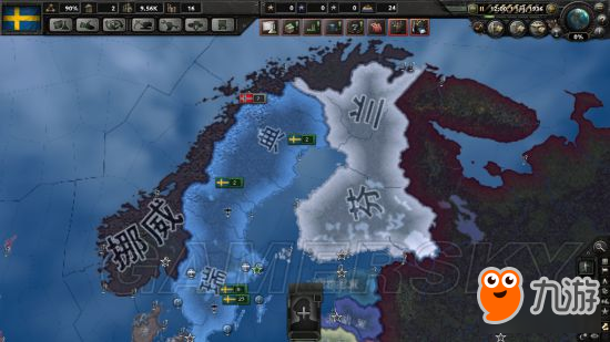 《钢铁雄心4》瑞典破局打法图文战报 瑞典怎么玩