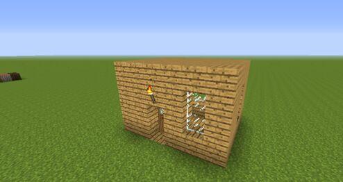 如何建造我的世界简易房子火柴盒