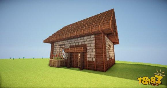 如何建造我的世界简易房子小房子