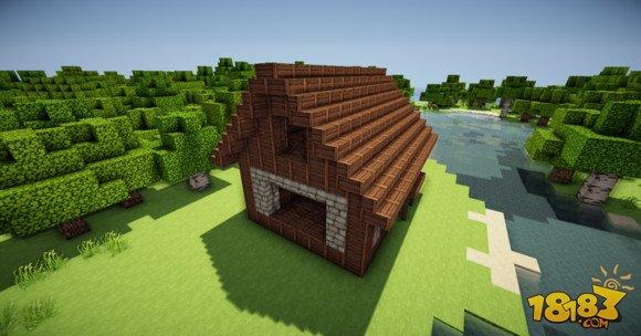 如何建造我的世界簡易房子小房子