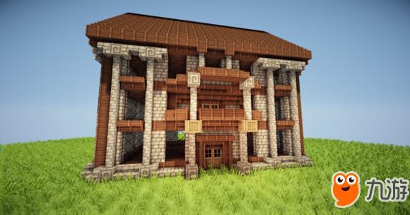 如何建造我的世界简易房子小旅馆