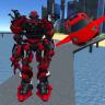 X Ray Flying Car Robot 3D