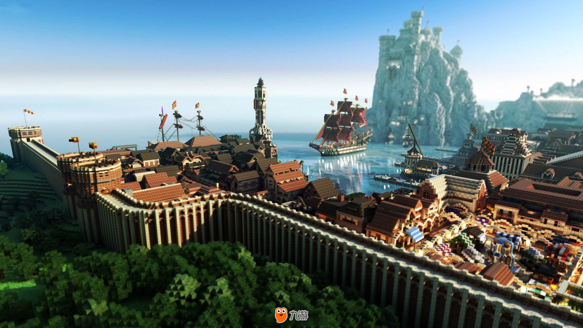 我的世界精美图片 我的世界高清壁纸_九游手机游戏