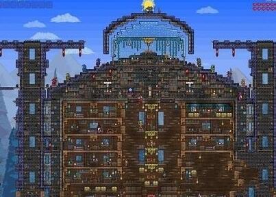 《泰拉瑞亚》房子设计图top4评选图片
