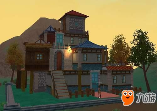 幼儿园手工制作房子城堡