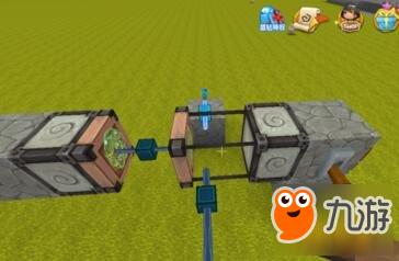 迷你世界上下双程滑块电梯怎么做