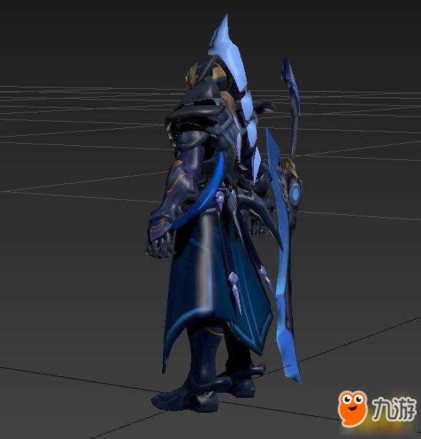 王者荣耀铠新模型曝光 全新盔甲系列英雄将亮相