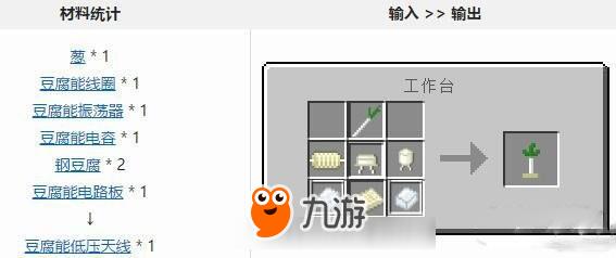 我的世界中国版天线方法制作豆腐天制作蛋糕盘的步骤豆腐图片