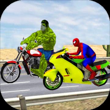 蜘蛛 英雄 上 自行车