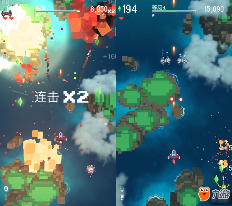 来一场畅快的空中激战吧:像素飞机大战