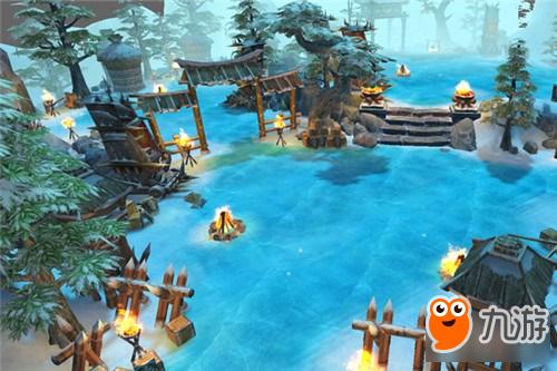 梦回仙域游戏背景概述 3D水墨东方玄幻大作图片