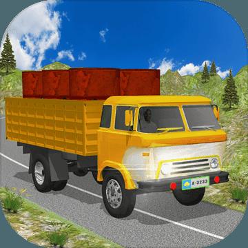 疯狂的 越野 货物 卡车 3d