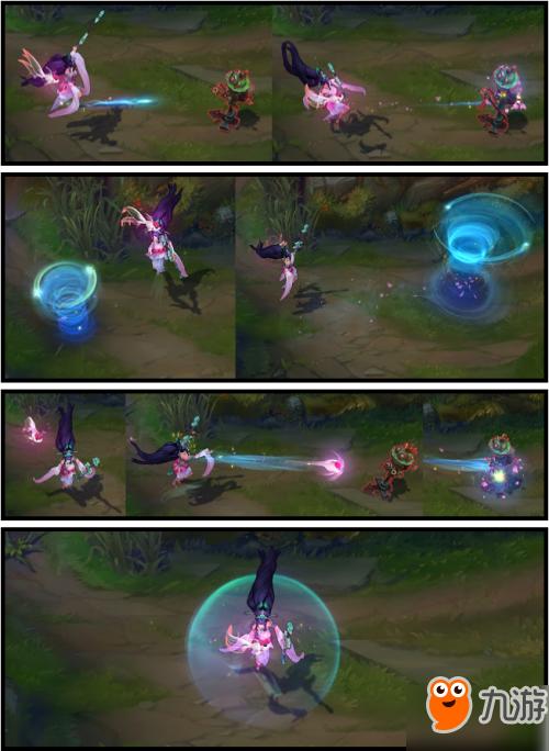 《lol》紫青宝剑迦娜皮肤怎么样 英雄联盟风女仙侠皮肤特效一览