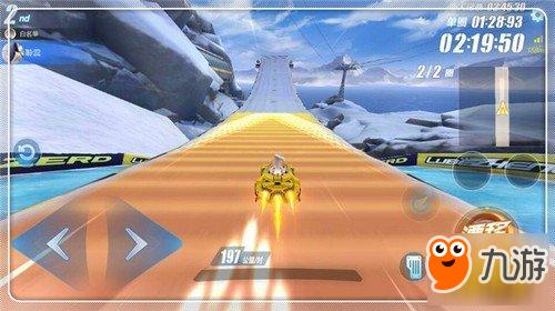 QQ飞车手游冰川滑雪场跑法 冰川滑雪场攻略