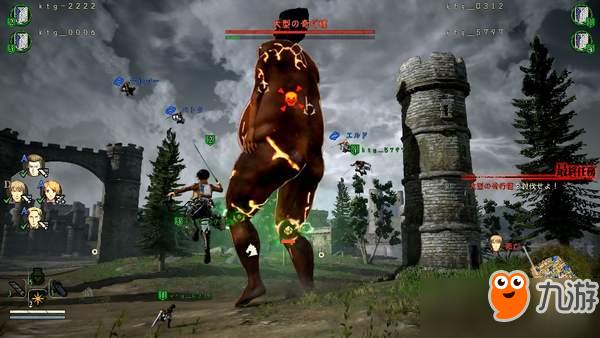 《进击的巨人2》海量截图 四位可玩角色&多人模式公开