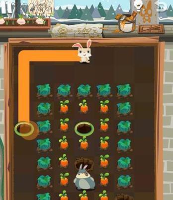 兔子吃萝卜 闯关游戏 兔子吃萝卜 介绍图片