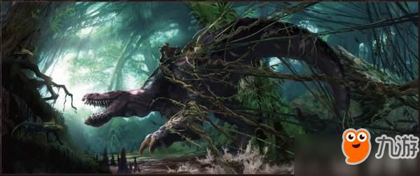 如梦似幻!《怪物猎人世界》特集场景高清设定图公开