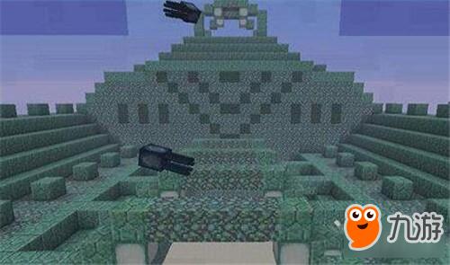 丛林神庙:由圆石和苔石组成的森林遗迹,奖励主要有金锭,金苹果,钻石