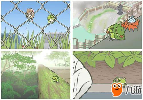 """清新简单的画风和可爱的小青蛙令人眼前一亮,""""佛系""""的玩法也为玩家"""