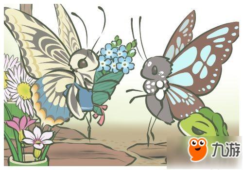 旅行青蛙(旅かえる)蝴蝶明信片獲取方法 增加與蝴蝶合影方法分享