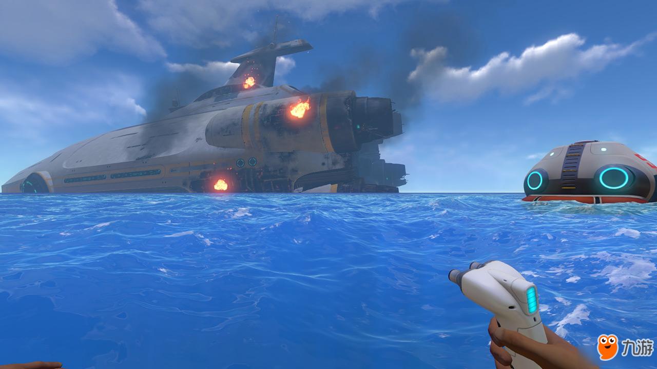深海迷航36,建造月亮池成功,未知生物蛋太神秘了_网易视频