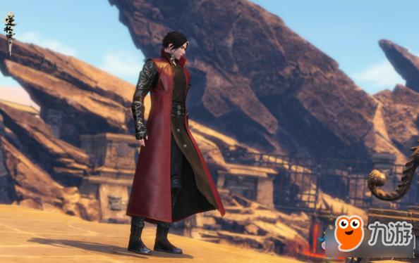 逆水寒 黑红配色时装鲛风御雷怎么样 鲛风御雷一览图片