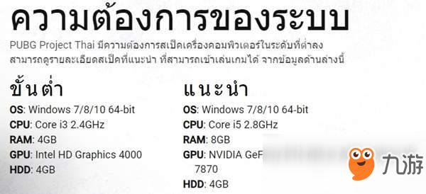 绝地求生》PC低配版是什么 泰国玩家也想吃鸡