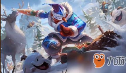 《LOL》剑圣冰雪节皮肤技能特效预览 冰雪节无极剑圣技能特效展示