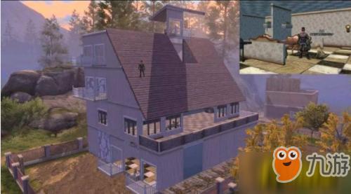 《明日之后》三级庄园别墅设计图 三级庄园房子怎么建造