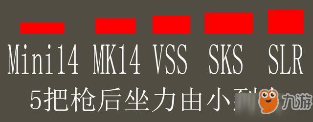 《香肠派对》VSS、Mini14、SKS、SLR、MK14? 精华