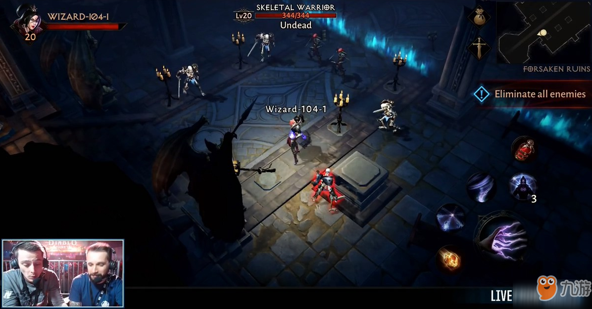 《暗黑破坏神:不朽》实机演示曝光 还是熟悉的玩法