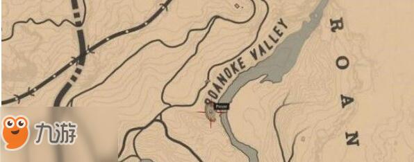 荒野大镖客2狼人彩蛋地图位置一览