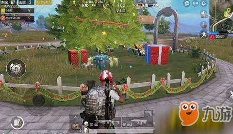 绝地求生刺激战场圣诞模式在哪进 圣诞模式玩法攻略