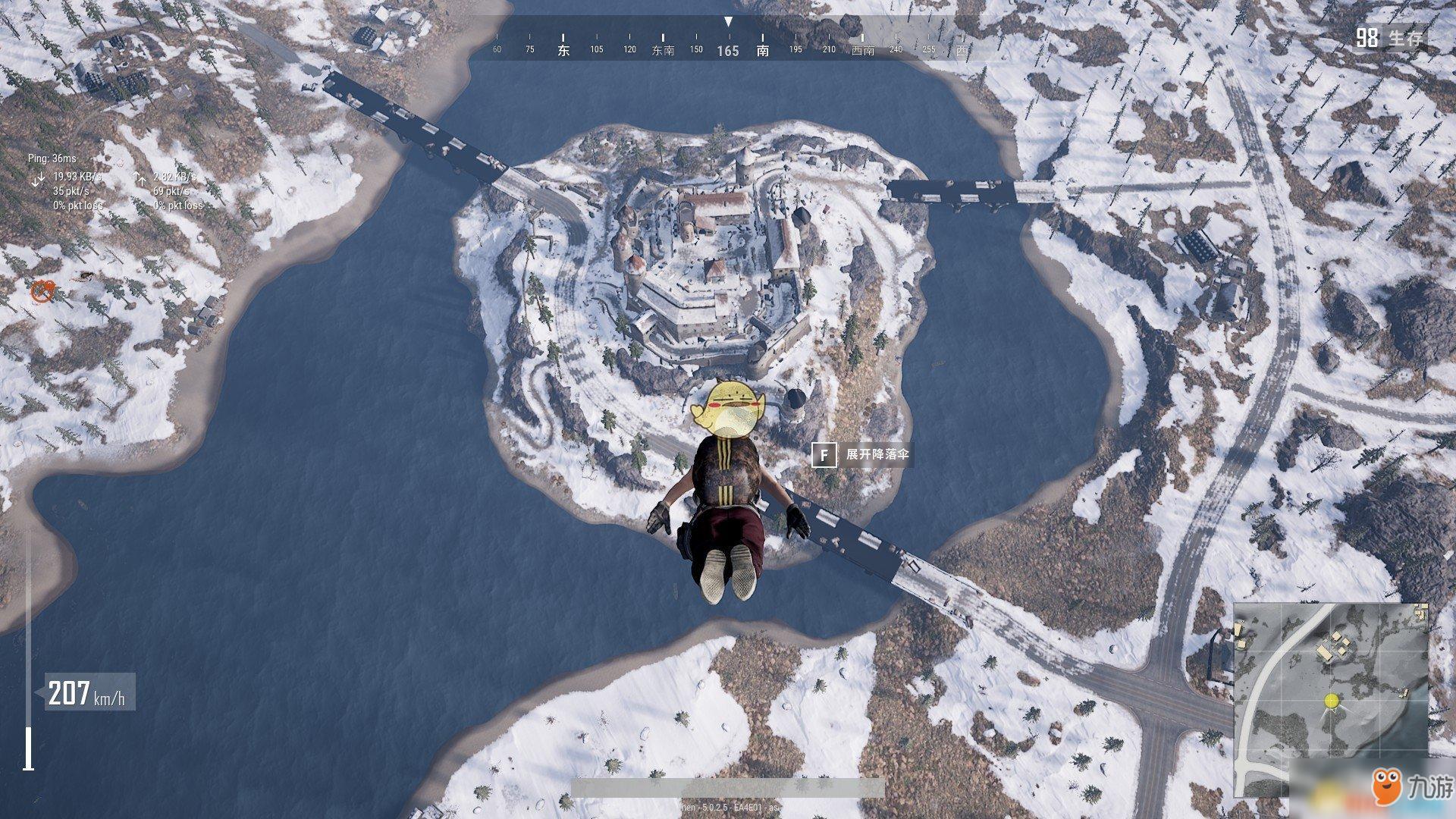 《绝地求生》雪地地图大型资源点在哪 castle城堡打法