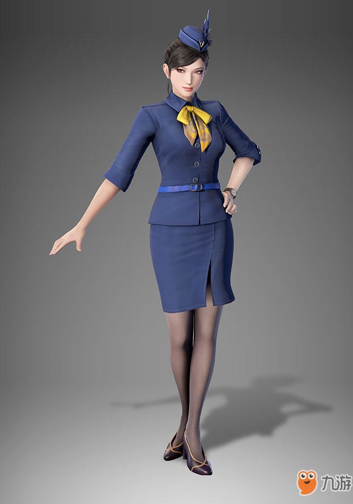 《真三国无双8》服装DLC有哪些内容甄姬空姐制服一览