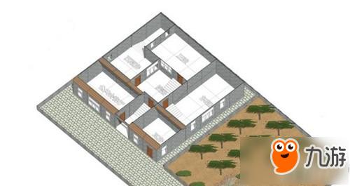 明日之后怎么设计四合院图纸 四合院设计图纸分享