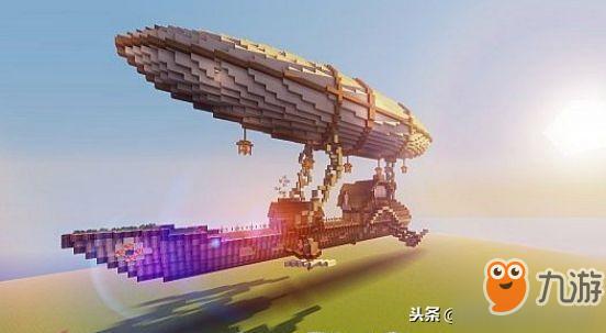 荷载50000人 盘点《我的世界》里在空中航行的诺亚方舟