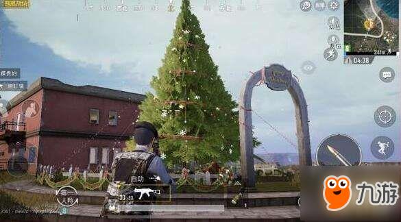 《绝地求生刺激战场》圣诞树具体位置在哪 圣诞树位置介绍