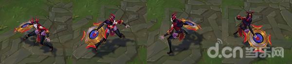 LOL腥红之月系列再添四款皮肤 剑魔的至臻皮肤难道是要加入K/DA女团?