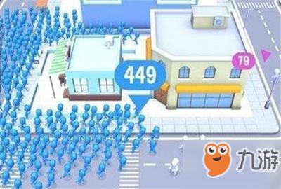 一群小人跑的游戏叫什么名字?拥挤城市好玩吗?