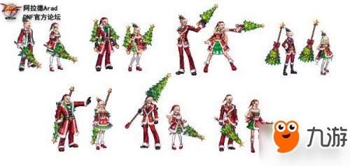 dnf2018圣诞树武器装扮外形什么样 圣诞树武器装扮外观预览