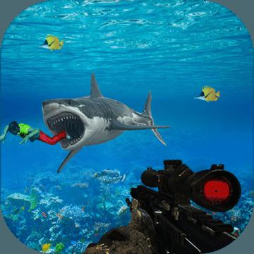 饿 野生 鲨鱼 Sim