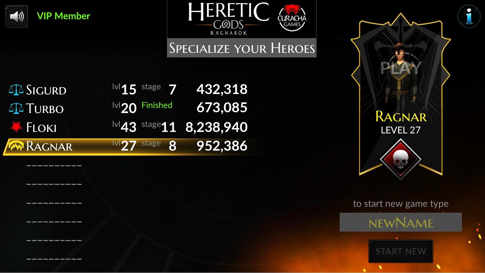 HERETIC GODS - Ragnarök新手攻略大全 新手怎么玩